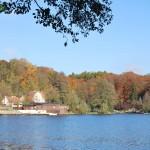 Łagów - Widok z jeziora