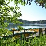Jezioro Łagowskie przed Ośrodkiem