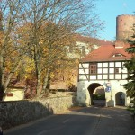 Podzamcze i zamek
